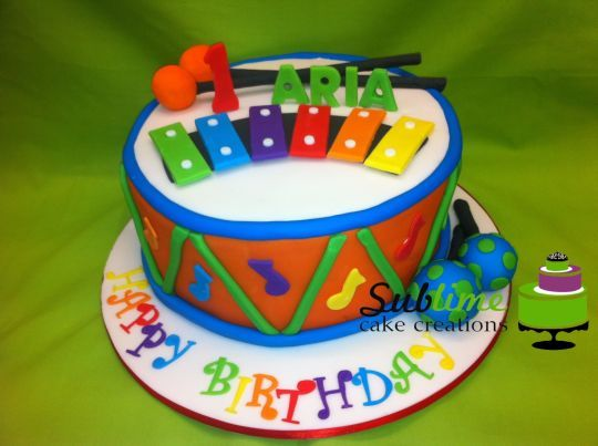 Amazing 11 Cakes Decoration With Musical Instruments Photo Musical Funny Birthday Cards Online Alyptdamsfinfo