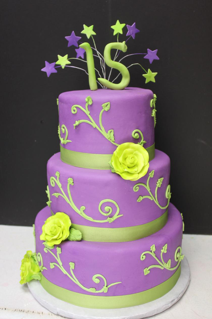 purple and lime green wedding cakes 13 lime green and purple cakes photo lime green and 18862