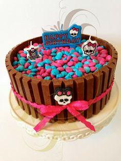 Fine 8 Easy Monster High Birthday Cakes Photo Monster High Birthday Funny Birthday Cards Online Fluifree Goldxyz