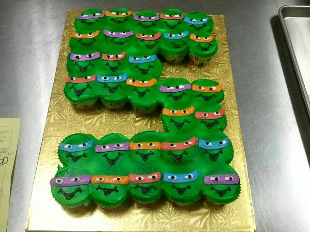 12 Publix Ninja Turtles Cupcake Cakes Photo Publix Birthday Cakes