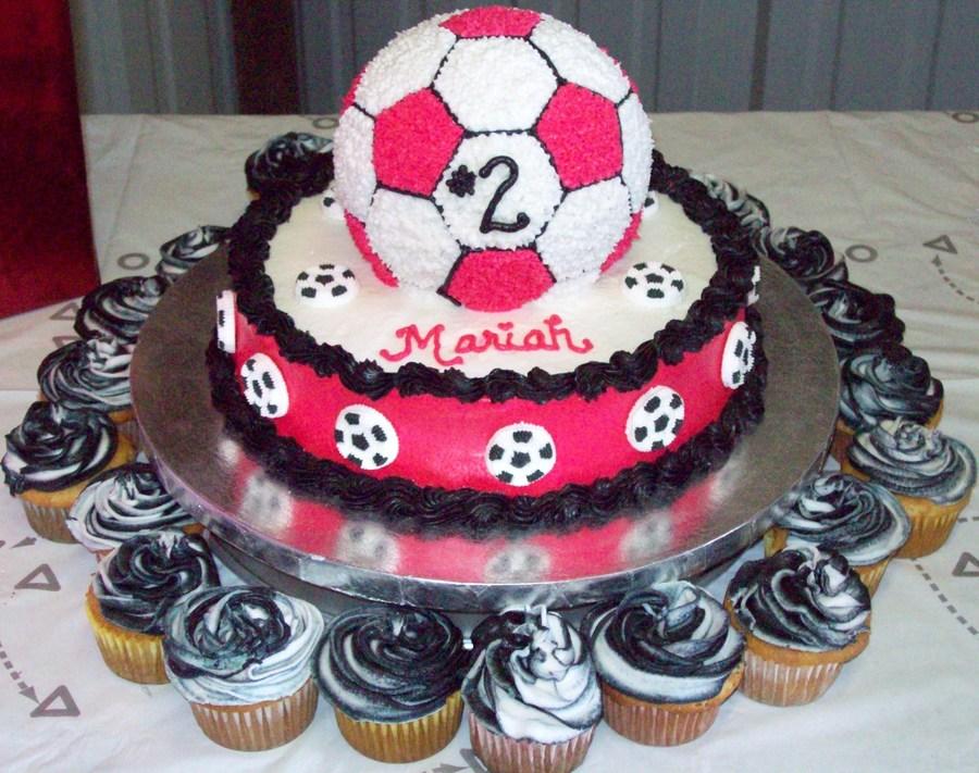Birthday Cakes For Teenage Girls ~ 10 soccer birthday cakes for teen girls photo pink soccer birthday