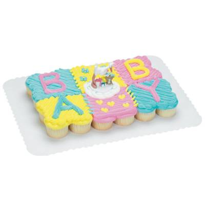 11 Publix Pull Apart Cupcake Cakes Baby Blocks Photo Publix Pull