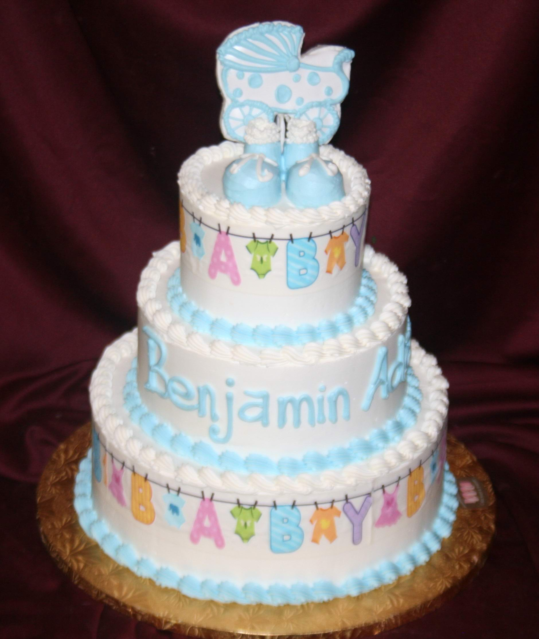 12 Buttercream Cakes For Boys Photo Sams Club Baby Shower Cakes