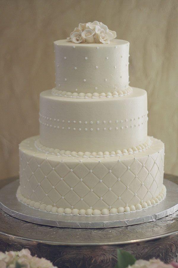11 Simple Small Wedding Cakes Fondant Photo Single Layer Wedding