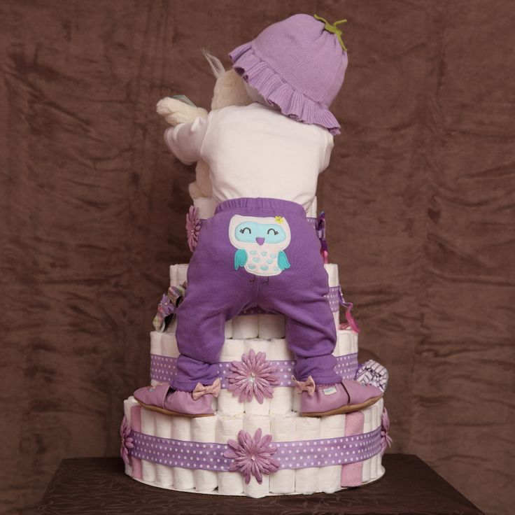 12 Baby Diaper Cakes Photo Baby Boy Diaper Cake Baby Shower