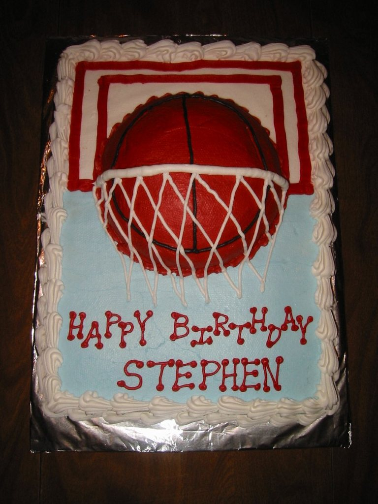 12 Teenage Birthday Cakes Basketball Photo Louisiana State