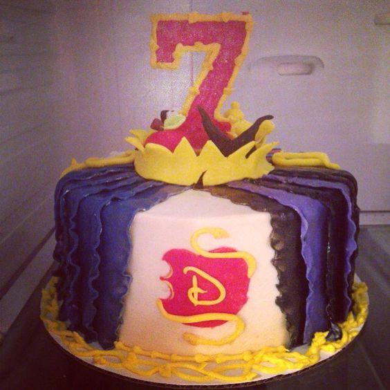 Disney Descendants Birthday Cakes