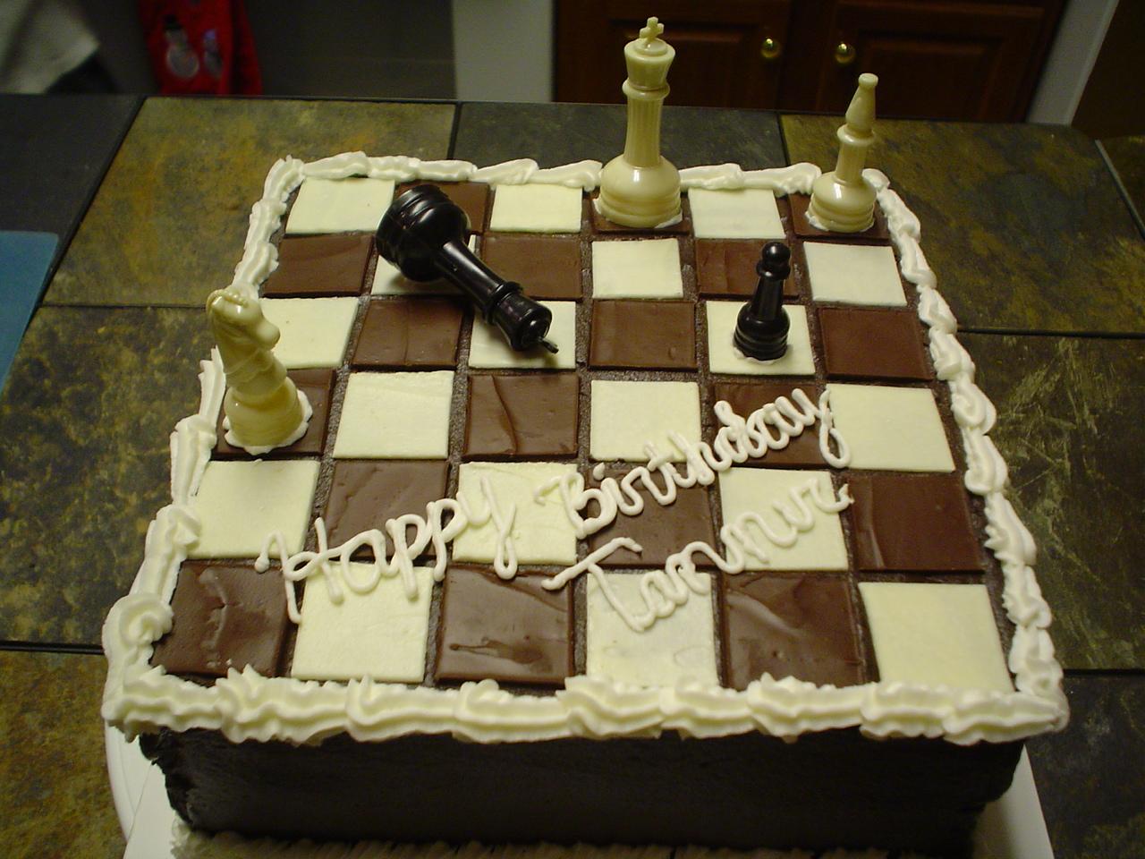 8 Chess Board Game Cakes Photo Chess Cake Chess Board Birthday