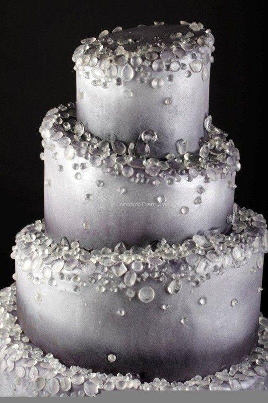 Diamond Shaped Birthday Cake