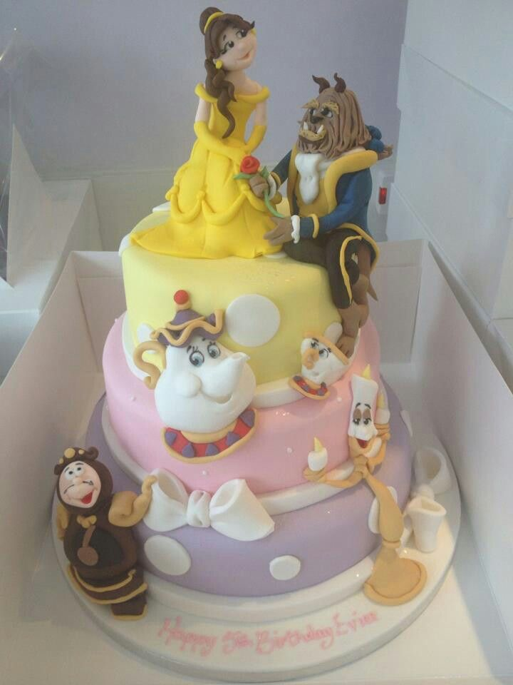 10 Beauty And The Beast Small Cakes Photo Beauty and the Beast