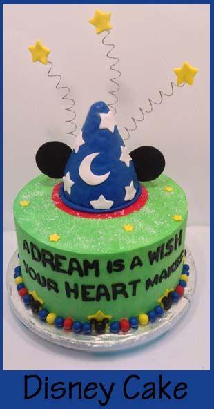 7 Disneyland Celebration Cakes Photo Disney Celebration Cakes at