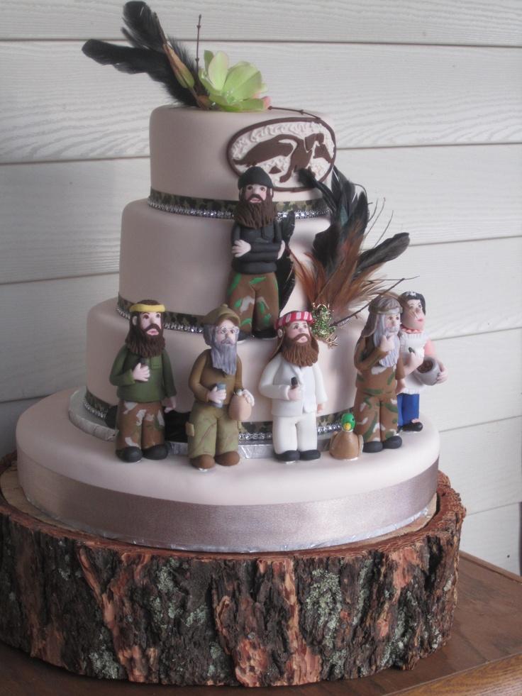 Phenomenal 7 Duck Dynasty Girl Cakes Photo Duck Dynasty Birthday Cake Ideas Personalised Birthday Cards Veneteletsinfo