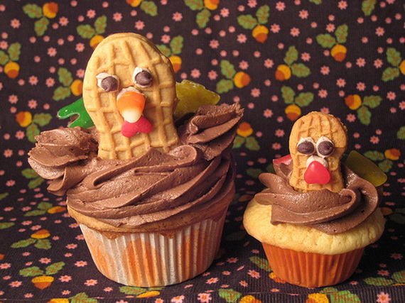 13 Photos of Thanksgiving Cupcakes Cool