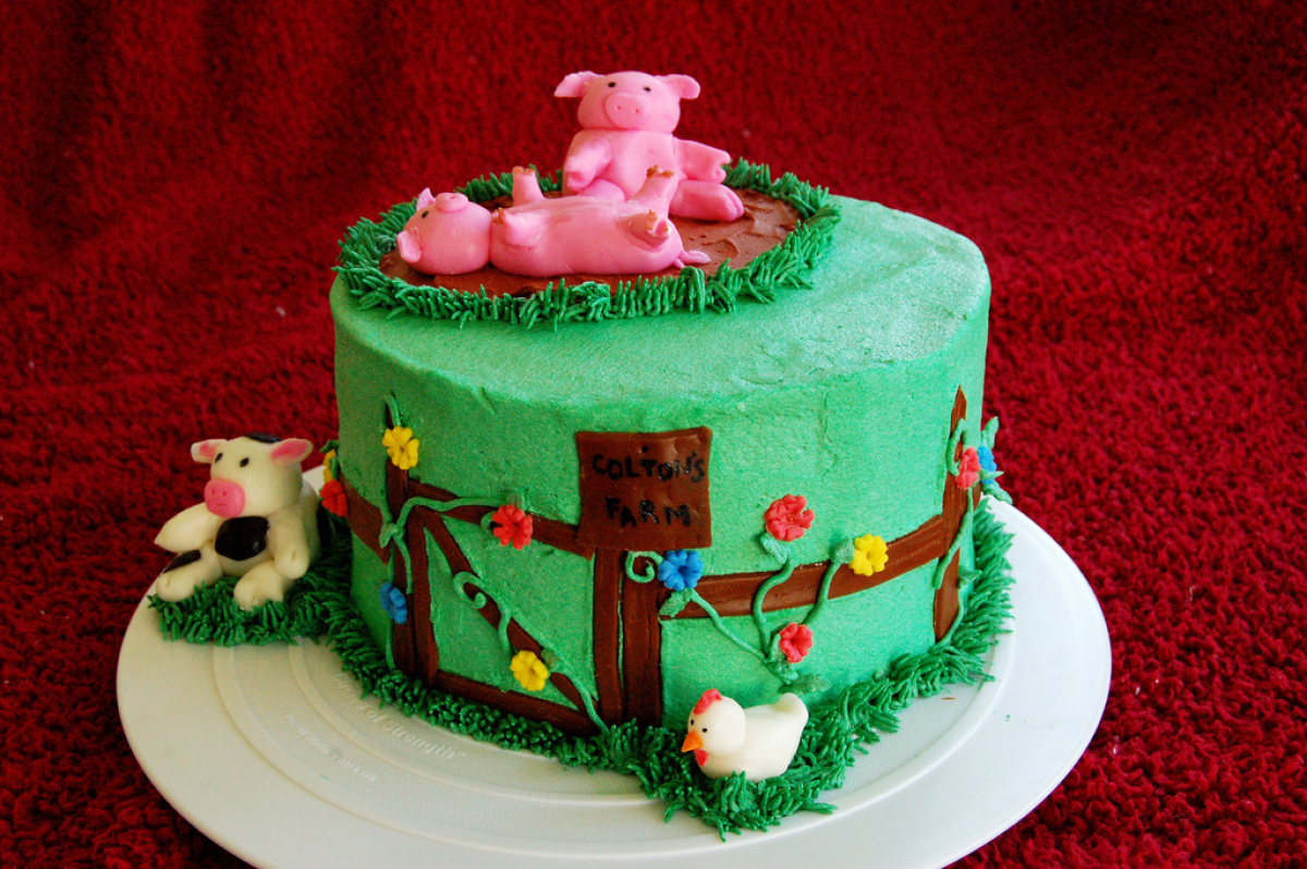 11 Cattle Farm Cakes For Adults Photo Farm Themed Birthday Cake