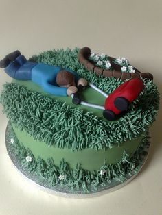 Funny Father's Day Cake