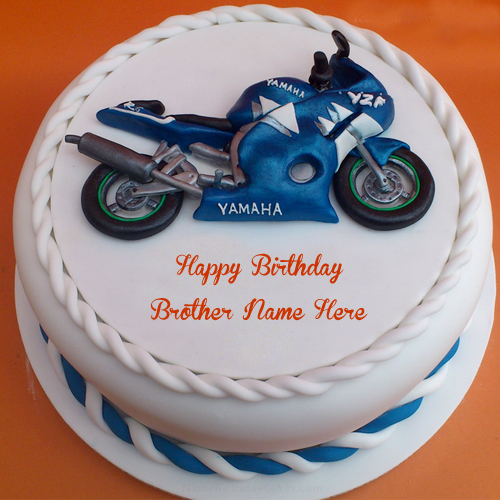 6 25 Anniversary Cakes For Brother Photo Happy Birthday Cake with