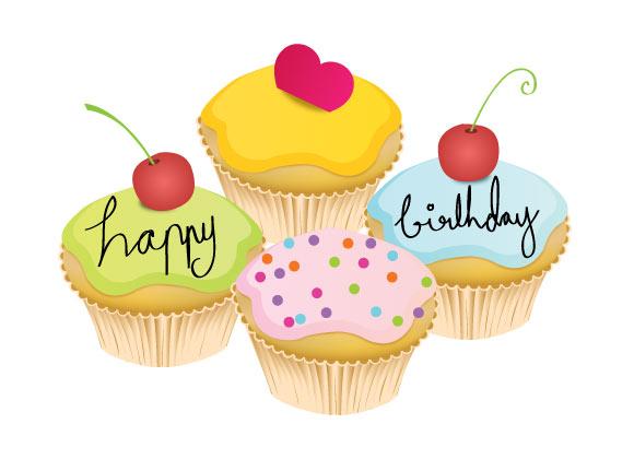 7 May Birthday Cupcakes Photo Happy Birthday Cupcake May Birthday