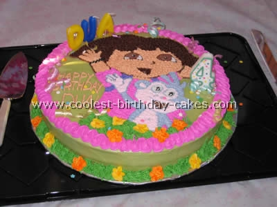 Phenomenal 7 Dora Birthday Cakes For A One Year Old Photo Happy Birthday Funny Birthday Cards Online Alyptdamsfinfo