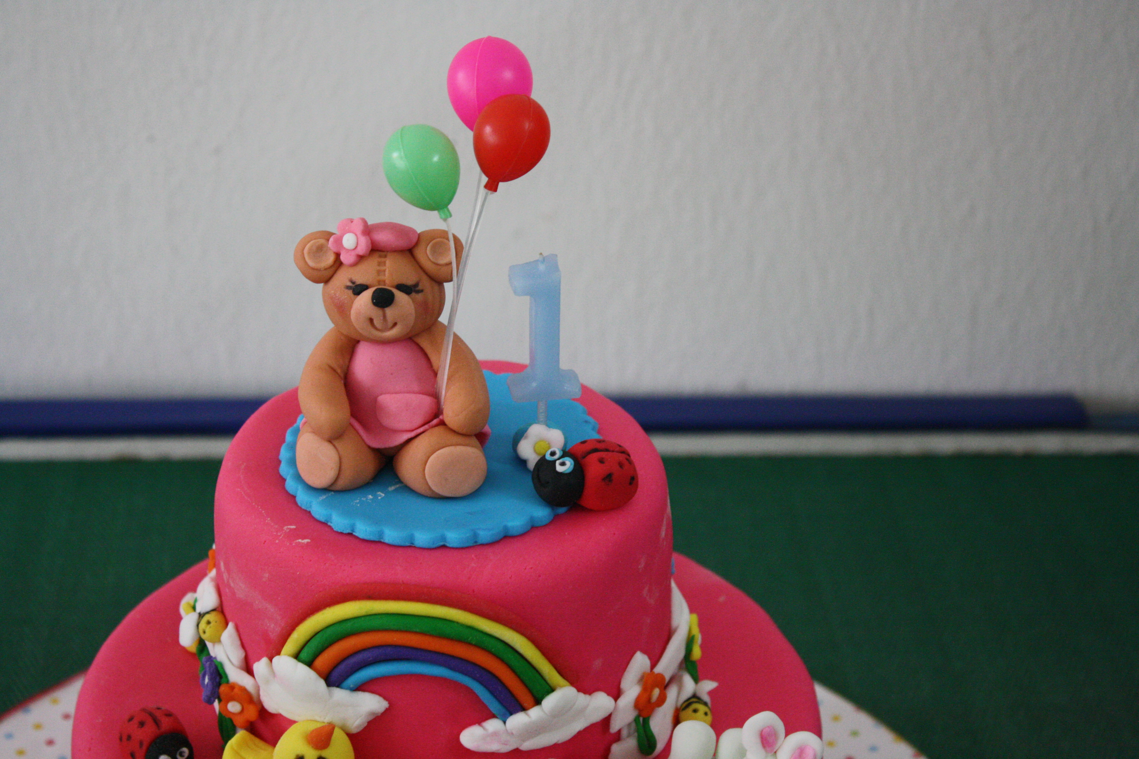 Birthday Cake For One ~ One layer cakes for year old baby photo year old girl