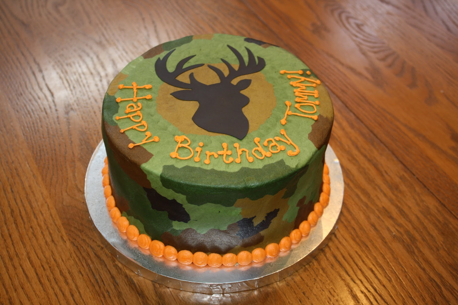 7 Hunting Birthday Cakes Design Photo Hunting Camo Birthday Cake