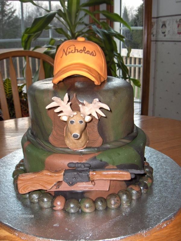 Wondrous 13 Food City Birthday Cakes Hunting Theme Photo Hunting Theme Funny Birthday Cards Online Elaedamsfinfo