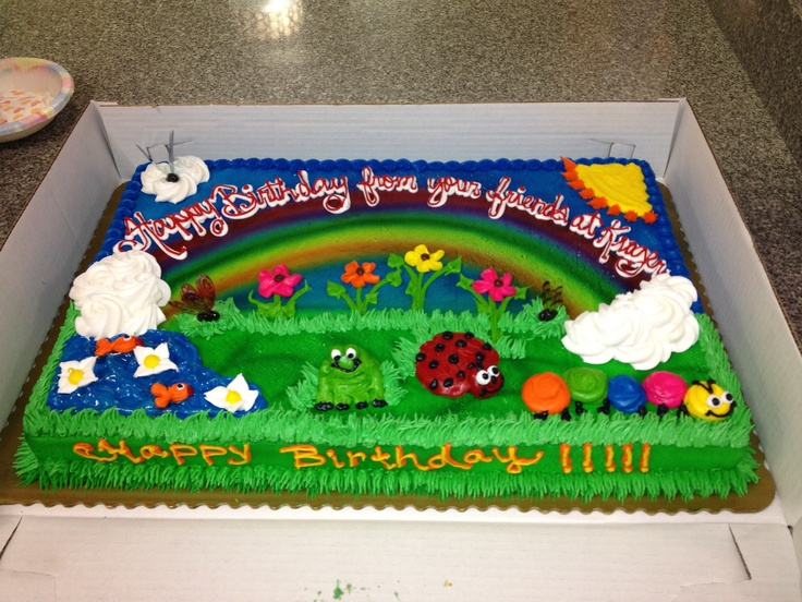 8 Boys Birthday Cakes At Kroger Photo
