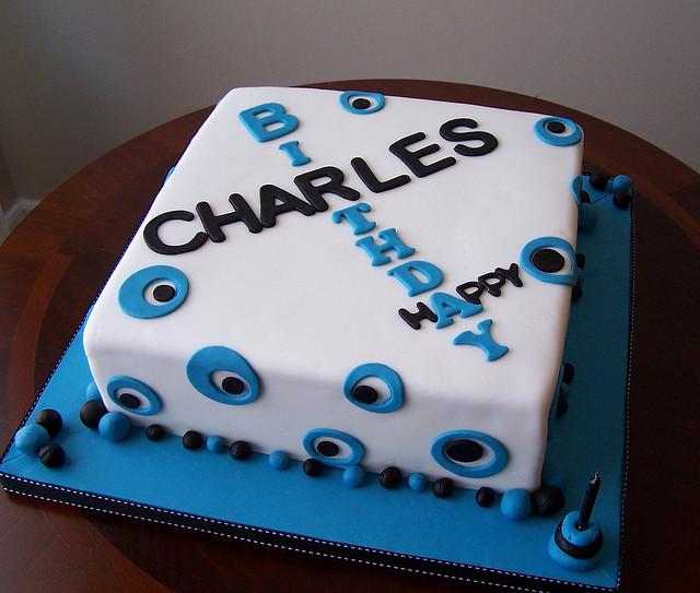 8 Squares Cakes Designs For Men Photo Man 70th Birthday Cake Ideas