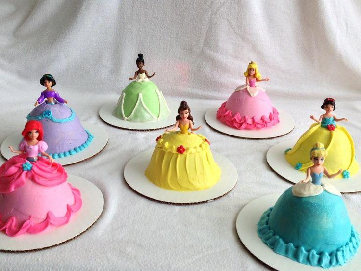 How To Make A Disney Princess Cupcake Cake