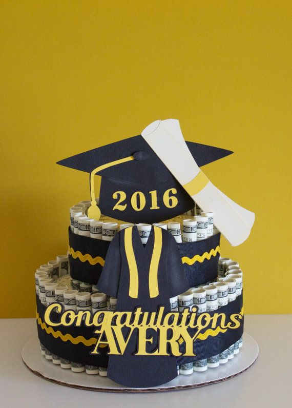 10 Money For College Graduation Cakes Photo Graduation Money Cake
