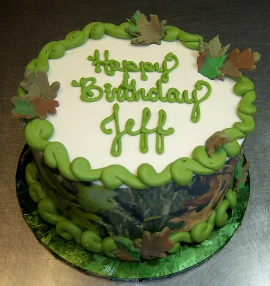 12 Easy Camouflage Cakes Photo Hunting Camouflage Birthday Cake