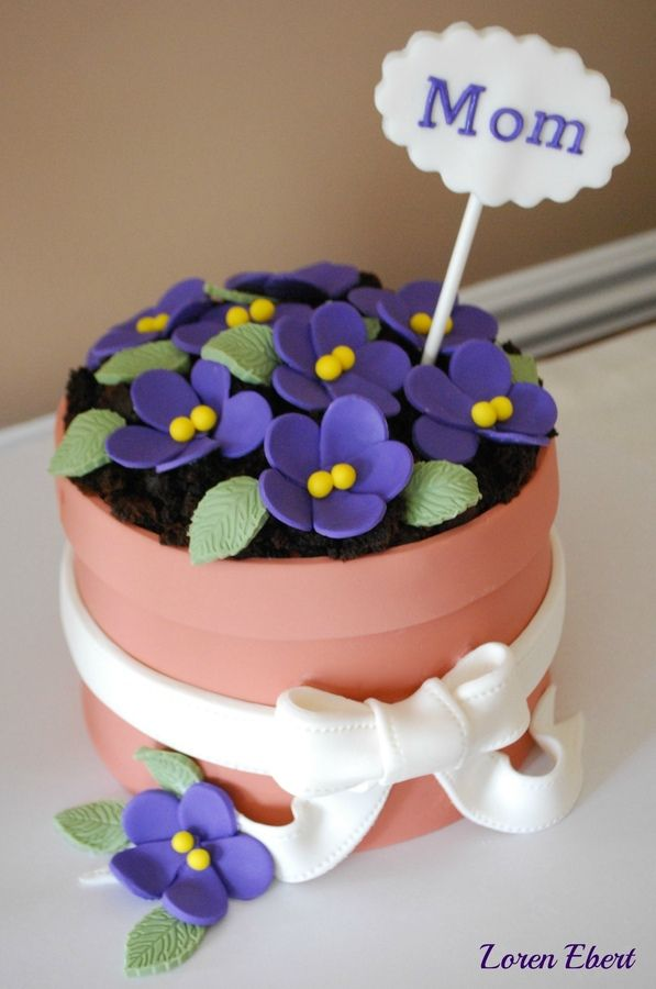 8 Photos of Pinterest Mother's Day Cakes