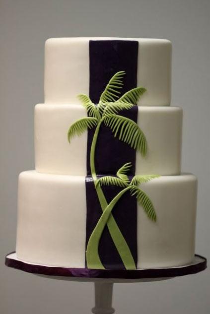 Superb 7 Palm Tree Mold For Wedding Cakes Photo Palm Tree Wedding Cake Birthday Cards Printable Trancafe Filternl