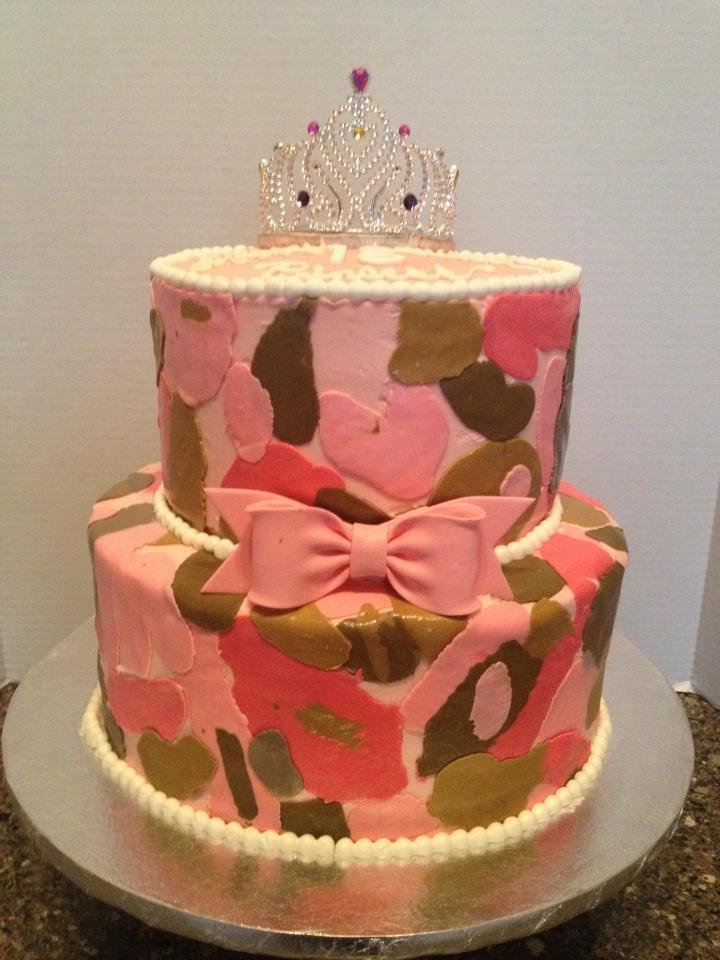 Phenomenal 10 Camo Pink Camo Birthday Cakes Photo Pink Camo Cake Pink Camo Personalised Birthday Cards Paralily Jamesorg
