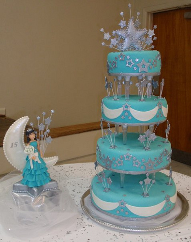 11 Big Birthday Cakes For Quince Photo Quinceanera Birthday Cake