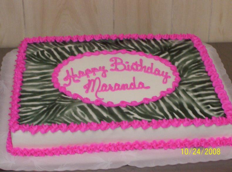 8 ShopRite Retirement Cakes Photo ShopRite Cupcake Cakes ShopRite