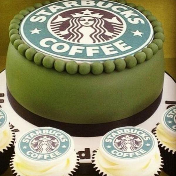 Amazing 9 Starbucks Creative And Unusual Cakes Photo Caramel Frappuccino Funny Birthday Cards Online Unhofree Goldxyz