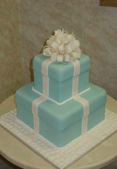 Tiffany Wedding Cake Bakery