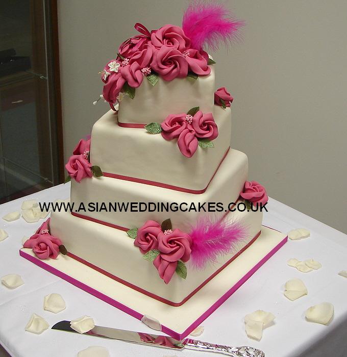 Wedding Cake with Royal Icing