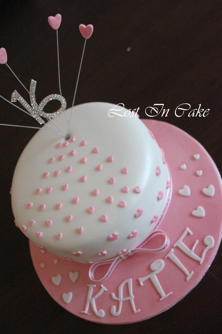 8 Simple 16th Birthday Cakes Photo Simple Sweet 16 Birthday Cakes
