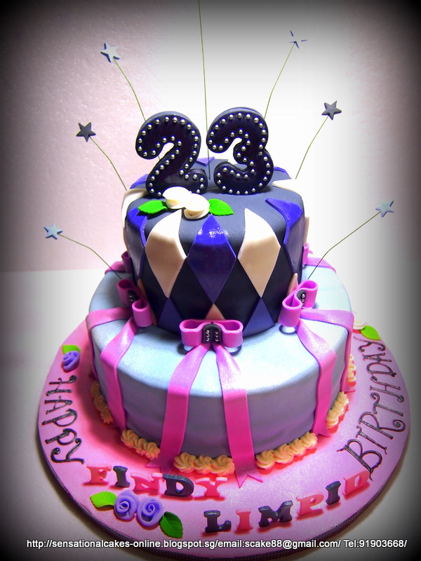 8 23rd birthday cakes for women photo 23rd birthday cake mac 23rd birthday cake thecheapjerseys Images