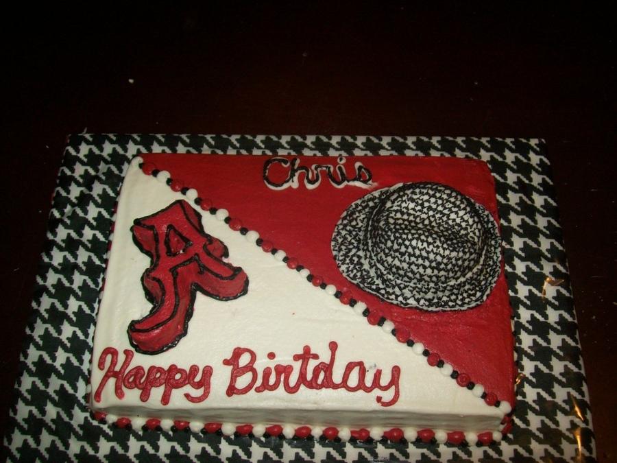 11 Alabama Crimson Tide Layered Cakes Photo Alabama Crimson Tide