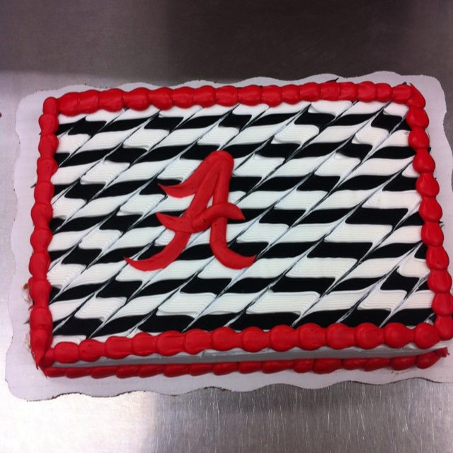 11 Alabama Crimson Tide Layered Cakes Photo Alabama Crimson Tide