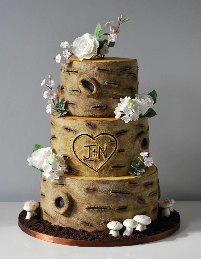 12 Cakes Shapes Wood Tree Photo Birch Wood Wedding Cake Tree - Wedding Cake Tree Bark