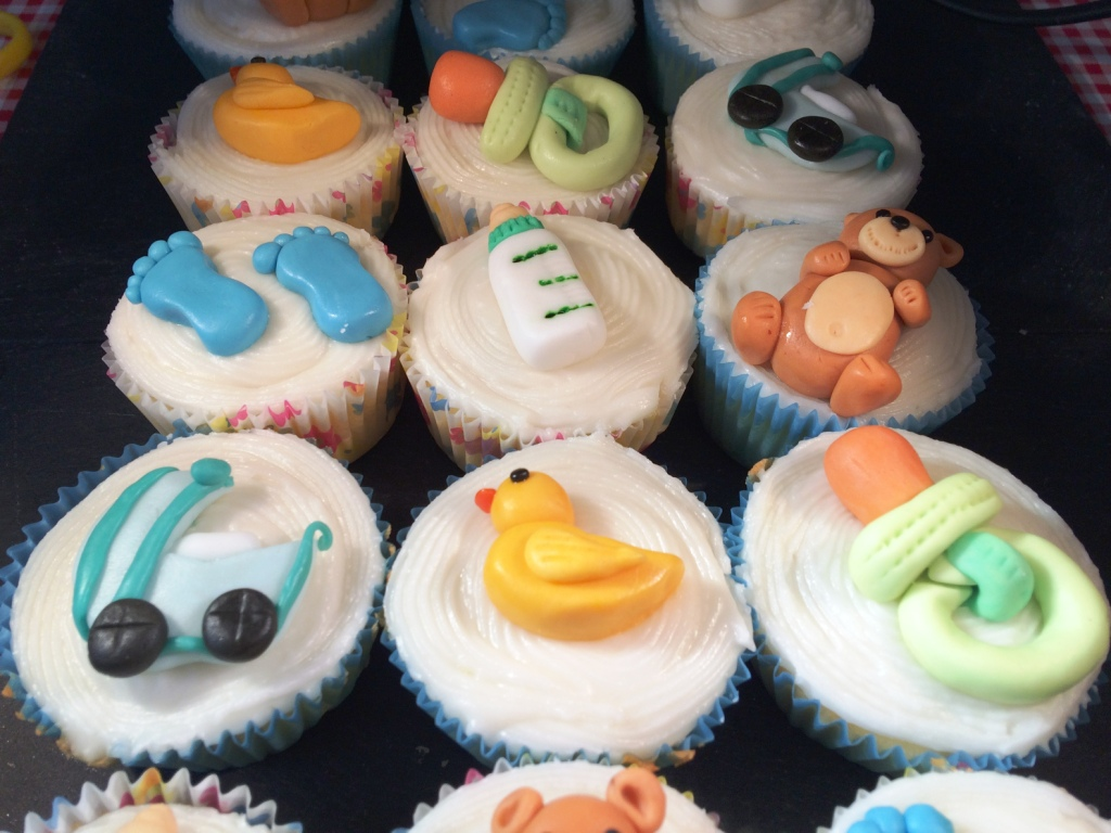 Baby Boy Baby Shower Cupcakes ~ Baby shower cupcakes for boys