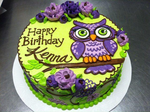 8 Awesome Owl Birthday Cakes For 25 Photo Owl Birthday Cake Ideas