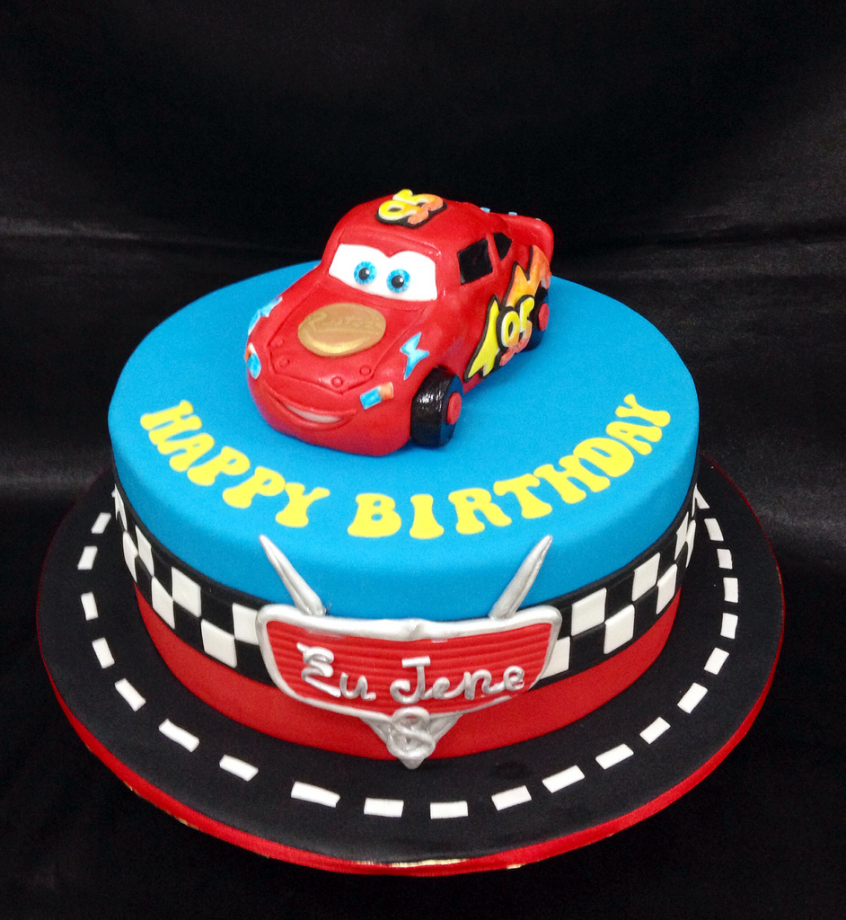 Fondant Cake Cars Disney