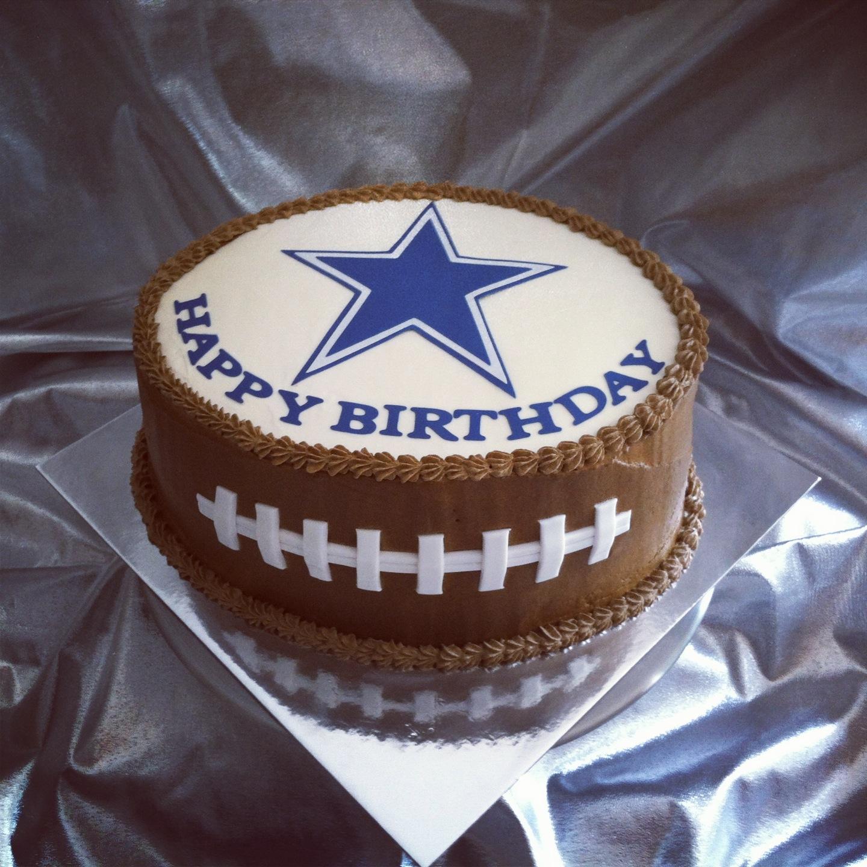 Super 10 Happy Birthday Garrison Dallas Cowboys Cakes Photo Dallas Funny Birthday Cards Online Alyptdamsfinfo