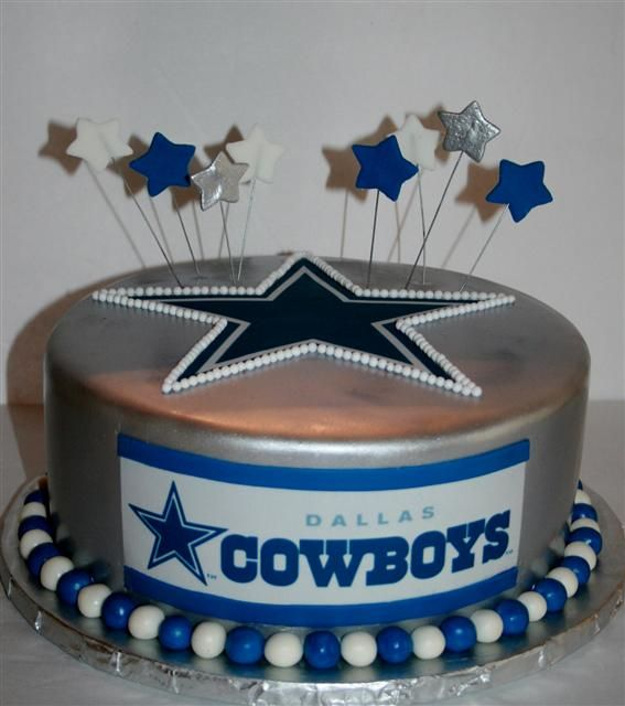 10 Happy Birthday Garrison Dallas Cowboys Cakes Photo Dallas