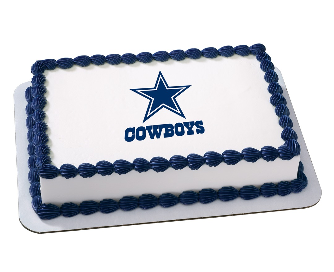 Swell 10 Happy Birthday Garrison Dallas Cowboys Cakes Photo Dallas Birthday Cards Printable Benkemecafe Filternl