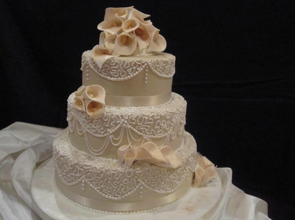 10 Unique Five Tier Elegant Wedding Reception Cakes Photo Red